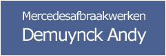 Mercedes afbraak Demuynck - Asper-Gavere